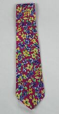 Polo Ralph Lauren Blue Label Pink Italy Silk Neck Tie