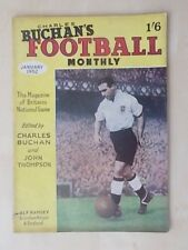 FOOTBALL MONTHLY MAGAZINE JANUARY 1952 - TOTTENHAM - BIRMINGHAM