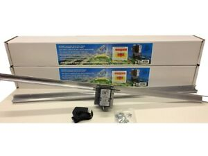 (2) Light Rail 4.0 Kits Motor w Rail, Light Mover Genuine Solidly Made in USA