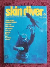 Vintage April 1975 Skin Diver Diving Action Around The World Lanai Island Hawaii