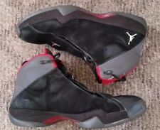 2006 AIR JORDAN XXI XX1 PE SIZE 15 BLACK METALLIC SILVER VARSITY RED 314303-061