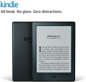 """Amazon Kindle E-Reader 8th Gen Tablet 6"""" Display WiFi 4GB Built In Audible Black"""