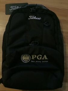 New Titleist Essential Backpack, Very Sharp Looking Bag. Padded Laptop Pocket