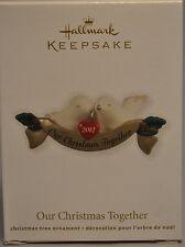 Hallmark - Our Christmas Together - Two Doves - 2012 Keepsake Ornament