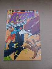 The  Atom 37. Intro Major Mynah . Gil Kane - DC 1968 - FN