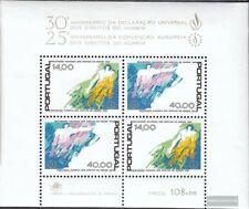 Portugal Bloc 24 (complète edition) oblitéré 1978 Droits de l'Homme