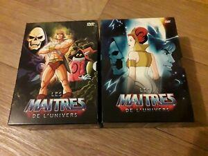 Les maîtres de l'univers - 10 DVD - Coffrets partie 1 & 2