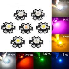 3w High Power Led Chip Light Beads White Warm Red Green Uv Ir Emitting Diode