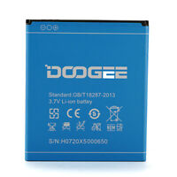 New DOOGEE Rechargeable 3.7V 2400mAh Li-ion Back Up Battery for DOOGEE X5 - Blue