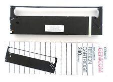 4x nastro della macchina ORIGINALE OKI Microline MX 1100 1150 1200 25mm NYLON NERO