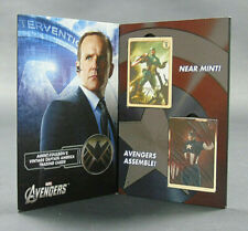 More details for agent coulson's vintage captain america trading cards (2012) 2 packs new in case