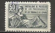 7369-ANTIGUO SELLO CORPORATIVO FISCAL MUTUALIDAD PROCURADORES TRIBUNALES ESPAÑA