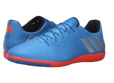 Adidas US 10.5 Messi 16.3 IN Soccer Futbol Football blue orange indoor shoes