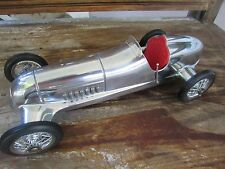 1930 s  Mercedes Silver Shadow 12 in. chrome Grand Prix race car wire wheels