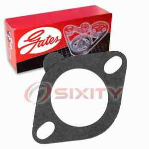 Gates Coolant Thermostat Housing Gasket for 1953-1963 Oldsmobile Fiesta 5.0L ce