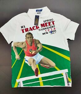Polo Ralph Lauren Chariots of Fire Track and Field Shirt Men's Size Large