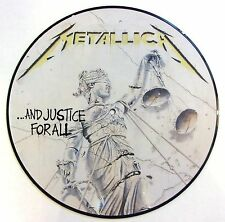 METALLICA VINYL LP - AND JUSTICE FOR ALL - PICTURE DISC