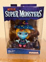 Playskool Super Monsters Katya Spelling Netflix Figure Witch Blue Star NIP