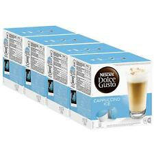 Nescafe Dolce Gusto Cappuccino Ice, Pack of 4, 4 x 16 Capsules (32 Servings)