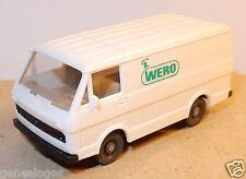 MICRO WIKING HO 1/87 VW VOLKSWAGEN FOURGON COMBI LT 28 WERO 1