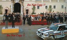 Walter Rohrl Opel Ascona 400 Winner Monte Carlo Rally 1982 Photograph 7