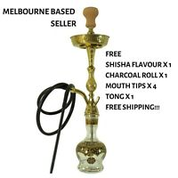 Zeus Hookah Limos Luxury Shisha, Flavour x 1, Charcoal x 1, Mouth Tips x 4