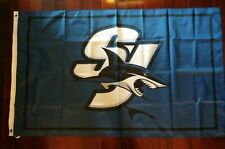 San Jose Sharks 3x5 Flag. US seller. Free shipping within the US