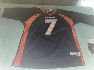 Adult 52 Xl John Elway Denver Broncos STARTER Pro Athletic Jersey Blue Sewn