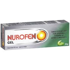 Nurofen Gel 50g 5%w/w ::Relief for Sprains, Strains, Sports Injuries::