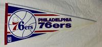 RARE VINTAGE NBA Philadelphia 76ers Pennant