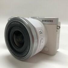 Samsung NX NX500 28.2MP Digital Camera White Kit w/ 16-50mm Lens Battery Charger