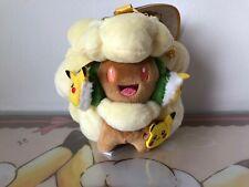 SMALL Pokemon Center Pokemon Fan of Pikachu Eevee Whimsicott Elfun Mascot Plush