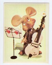 figurina TOPO GIGIO ALBI PER LA GIOVENTU' 1975 EDIZIONI PEREGO IMPERIA numero 62