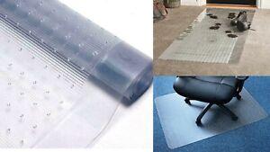 Vinyl Heavy Duty Plastic Carpet Mat Rug Protector Clear Runner Home Hallway 65cm