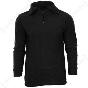 Black Thermal Underwear Set - Winter Warm Fleece Lining Base Under Layer New