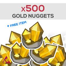 Animal Crossing NH - x500 GOLD NUGGETS + 1 free random item