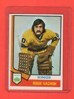 1974-75 O-Pee-Chee OPC  # 235 Rogation Vachon Nrmnt