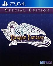 Dragon Fantasy: The Black Tome Of Ice Limited Run #18 PS4 - Factory Sealed