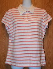 Junior Womens Striped Arizona Jean Co Cap Sleeve Shirt Size XL very good