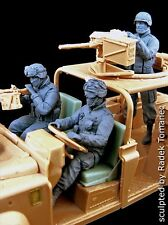 Black Dog 1/35 US Army Ranger Team in RSOV in Afghanistan (3 Figures) F35060