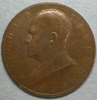 Dwight D. Eisenhower Inaugurated President Jan 20 1953 Token Medal #ZS94
