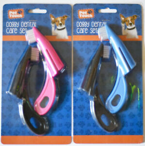 Dog Puppy Dental care set Doggy tooth brush