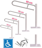 Griff für einen Senior Handlauf für Senioren Griff für Behinderte Klappgriff Bad