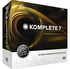 Native Instruments Komplete 7 UPDATE Virtual Synth Collection Plugins