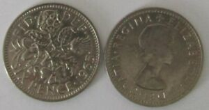 1953-1967 | Elizabeth II Sixpence | Choose Your Year | Free Postage + Discounts