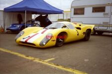 PHOTO  COYS 96 TWO LOLA T70S AT REST IN THE PADDOCK PRIOR TO THE PRE-72 LE MANS