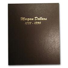 Dansco Album #7178 - Morgan Dollars 1878-1890 - SKU #564