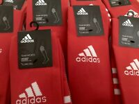 Adidas Climacool Long Socks In Red Rugby & football Uk Size 8.5 / 10 New PRP £15