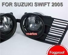Front Bumper Fog Light For SUZUKI SWIFT 2005 ~ 2006 ON /1Pair Fog Lamp w/Bulbs