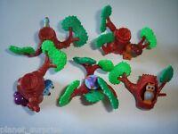 KINDER SURPRISE SET - 3D PUZZLE TREES & ANIMALS 1998 - TOYS COLLECTIBLES